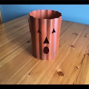 JACK-O-LANTERN Metal Candle Sleeve Holder